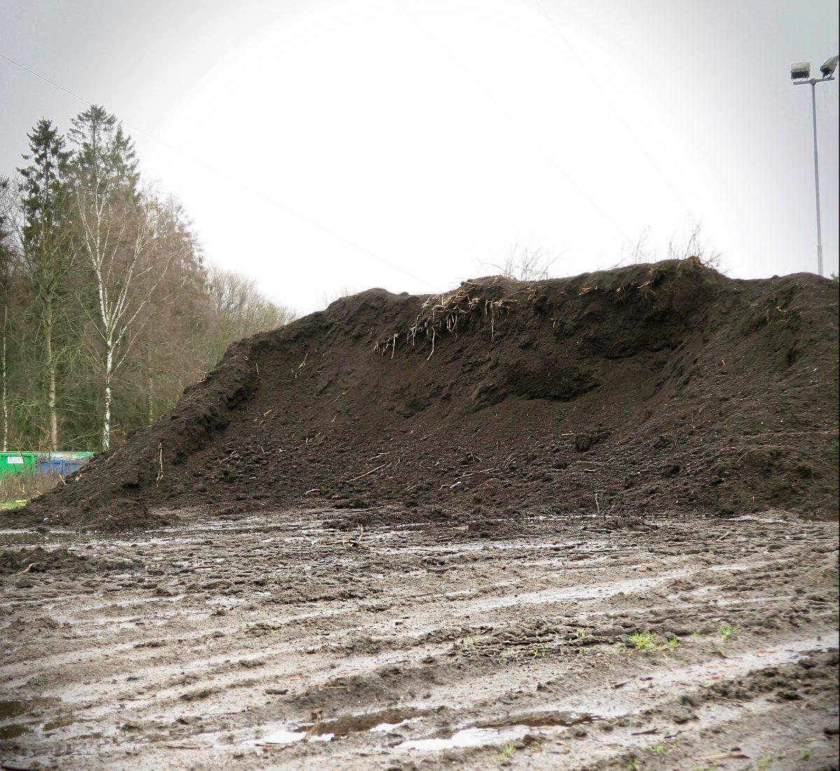 Slut på kompostjord